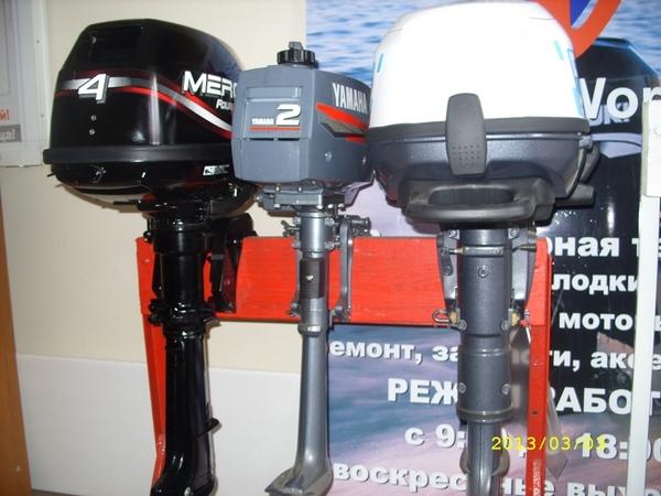 обкатка четырехтактного лодочного мотора меркури